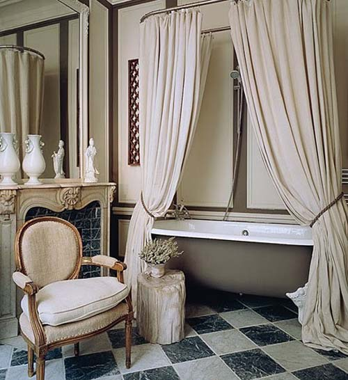 Others , 8 Excellent Shower Curtains For Clawfoot Tubs : clawfoot tub shower curtain