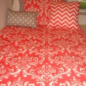 coral dorm bedding , 8 Unique Coral Bedspread In Bedroom Category