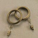 curtain designs , 7 Hottest Curtain Rings With Clips In Others Category