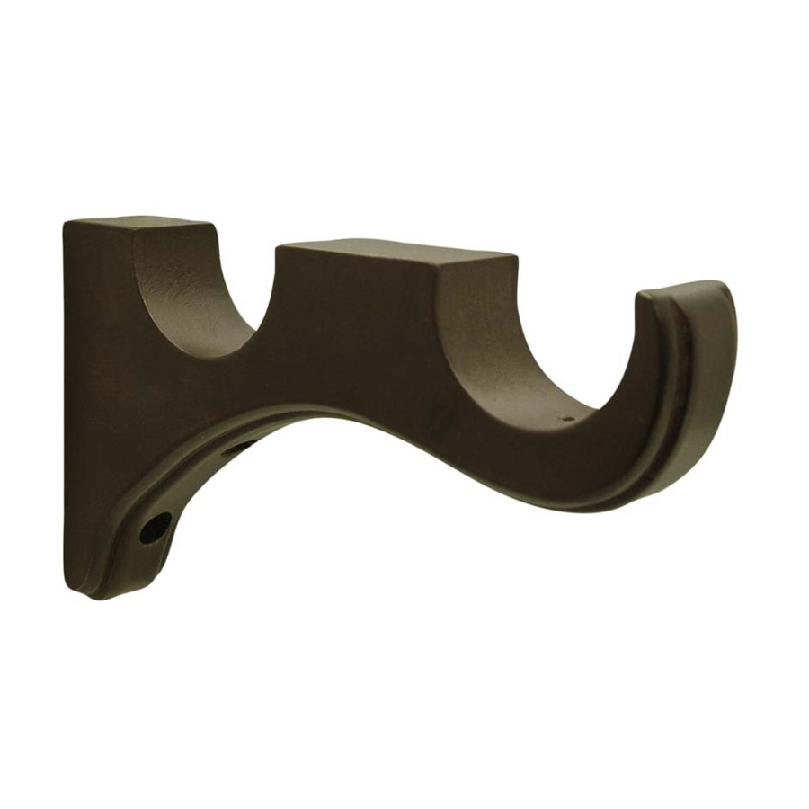 900x900px 7 Unique Wood Curtain Rod Brackets Picture in Others