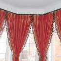 curtain rod placement , 7 Unique Bay Window Curtain Rod In Interior Design Category