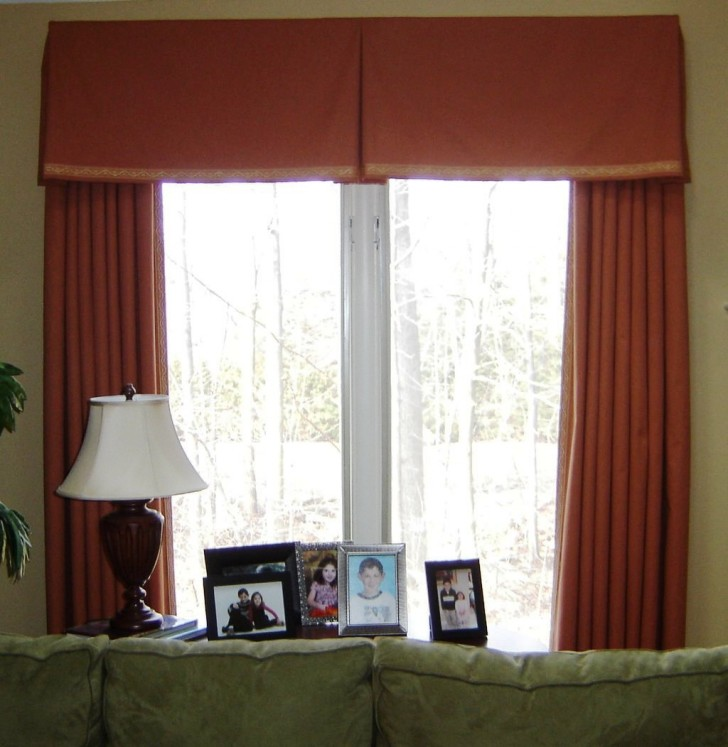 Furniture , 8 Popular Box Pleated Valance :  Curtain Rods