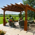 curved top pergola , 8 Unique Curved Pergola In Homes Category