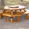 dining room sets , 8 Good Rustic Picnic Tables In Furniture Category