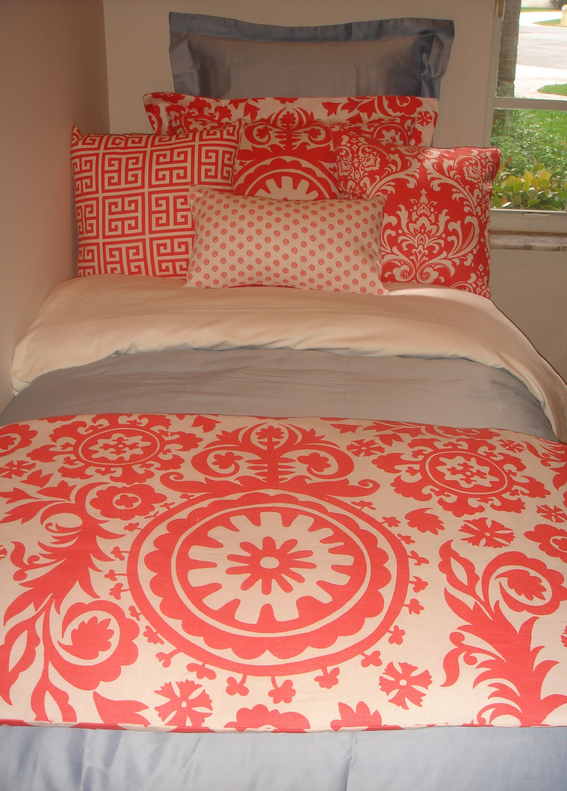 1146x1600px 8 Unique Coral Bedspread Picture in Bedroom