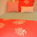 dorm room bedding , 8 Unique Coral Bedspread In Bedroom Category