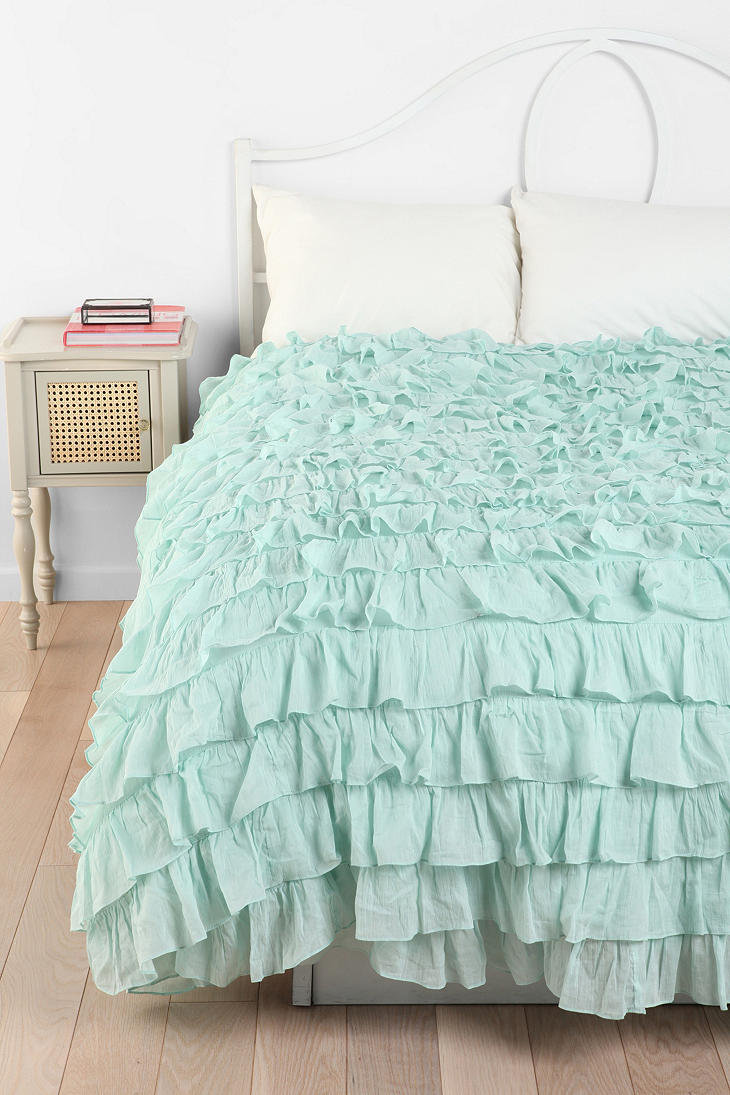 730x1095px 7 Ideal Ruffle Duvet Cover Picture in Bedroom