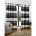 eyelet readymade curtain , 7 Ultimate Navy Striped Curtains In Others Category