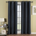 fabric shower curtains with matching window curtains , 7 Gorgeous Navy Blackout Curtains In Others Category