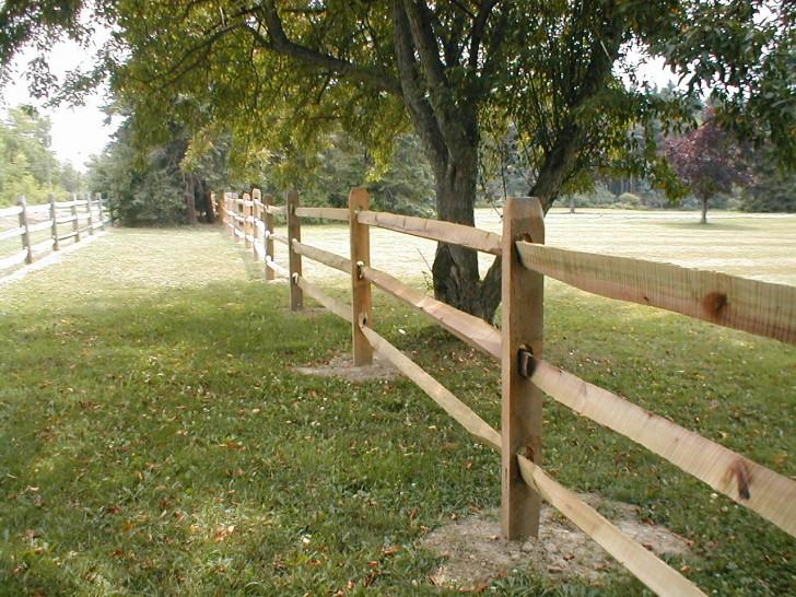 Others , 7 Gorgeous Split Rail Fence :  fence design