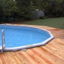 fiberglass pools , 7 Best Above Ground Pool Decks In Others Category