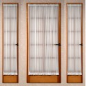 french voile door curtain , 6 Unique Sidelight Window Curtains In Others Category