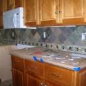 glass tile backsplash , 6 Superb Slate Tile Backsplash In Others Category