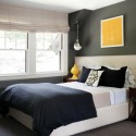 gray blue bedroom design , 7 Unique Grey Paints For Bedrooms In Bedroom Category
