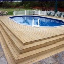 ground pool with deck surround , 7 Best Above Ground Pool Decks In Others Category