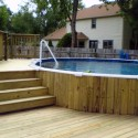ground swimming pool deck , 7 Best Above Ground Pool Decks In Others Category