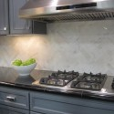 herringbone backsplash , 8 Popular Carrera Marble Backsplash In Others Category