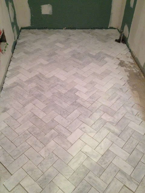 Others , 7 Stunning Herringbone Floor Tile : Herringbone Pattern