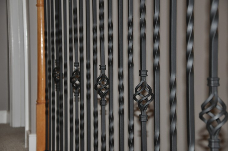 Interior Design , 7 Fabulous Iron Balusters : iron balusters basket series