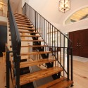 iron fence , 6 Good Stair Railing Ideas In Others Category