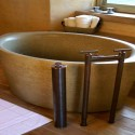 Bathroom , 7 Awesome Japanese Soaking Tub :  japanese hot tubs