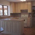 We build custom cabinets or install production made cabinets. , 8 Fabulous Pickled Oak Cabinets In Kitchen Category