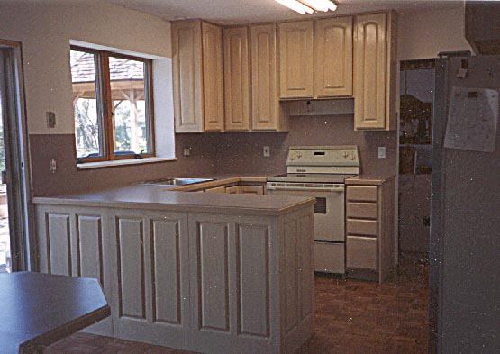 Kitchen , 8 Fabulous Pickled Oak Cabinets : We build custom cabinets or install production made cabinets.