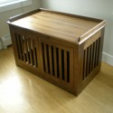 kitchens pet furniture , 6 Cool Custom Dog Crates In Furniture Category