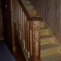 landing and balcony newels , 7 Fabulous Newel Post Designs In Interior Design Category