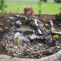 landscape design , 5 Charming Pondless Water Feature In Others Category