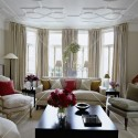 Others , 10 Awesome Floor To Ceiling Bay Window :  living room design ideas