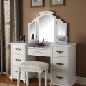 makeup tables , 7 Hottest Mirrored Vanity Table In Furniture Category