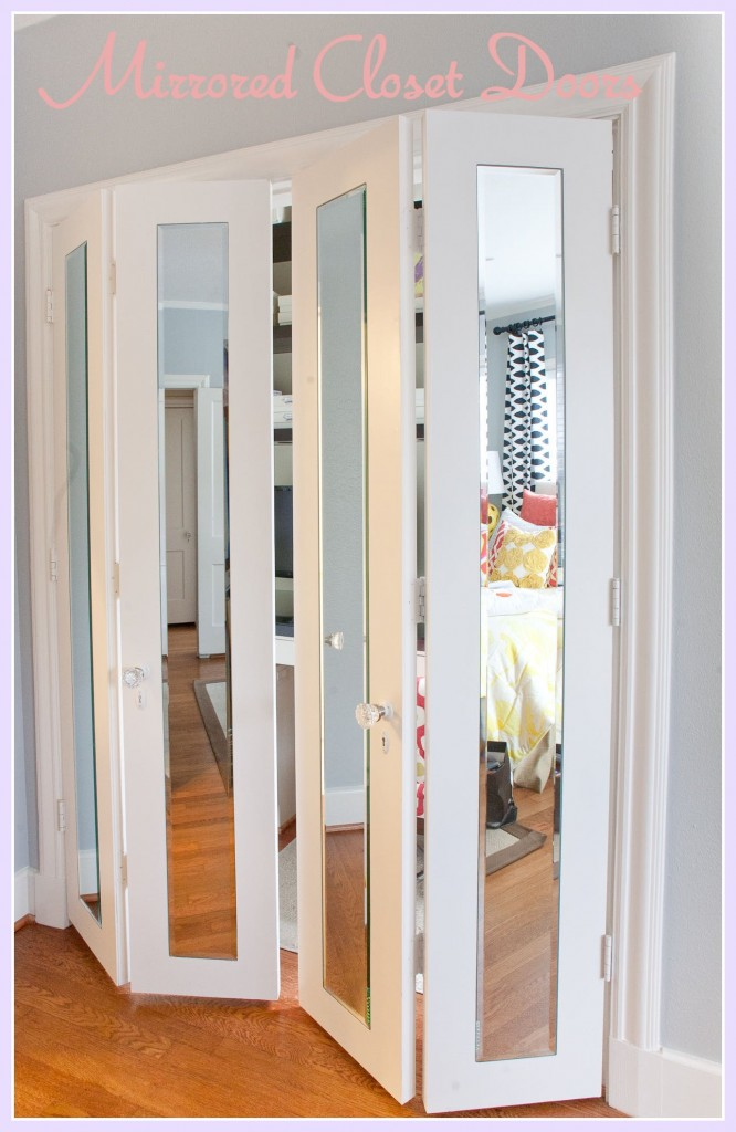 Furniture , 7 Fabulous Mirrored Closet Doors : mirror closet doors