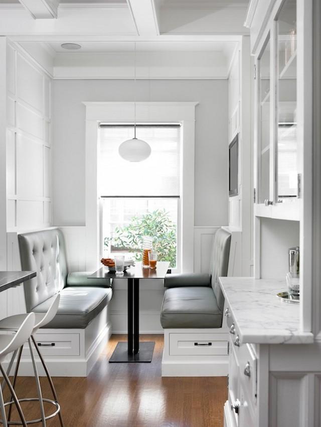 Kitchen , 8 Charming Kitchen Banquette Furniture : modern kitchen banquette seating furniture