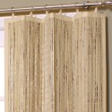 natural bamboo ring top curtain , 7 Stunning Bamboo Curtain Panels In Others Category
