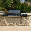 outdoor kitchens , 7 Charming Built In Barbeques In Homes Category