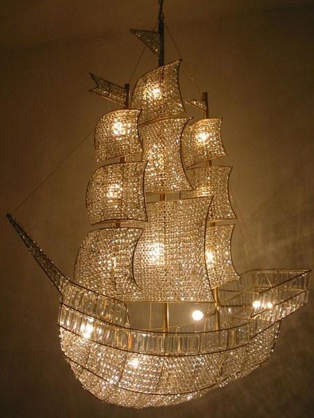 Lightning , 8 Stunning Pirate Ship Chandelier : pirate ship chandelier