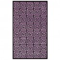 reek Key purple rug , 7 Stunning Greek Key Rug In Furniture Category