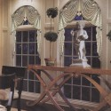 roman shades , 6 Cool Curtains For Arched Windows In Others Category