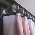 round lucite curtain rod hardware , 7 Stunning Lucite Curtain Rods In Others Category