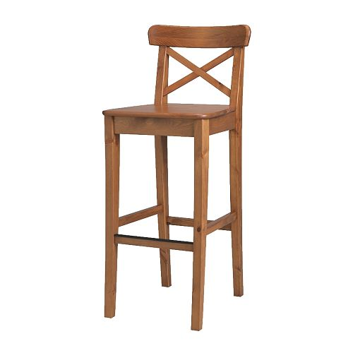 Furniture , 7 Superb Bar Stools Ikea :  rustic bar stools