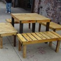 rustic indoor outdoor picnic table , 8 Good Rustic Picnic Tables In Furniture Category