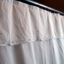 shabby chic curtains , 8 Ultimate White Cotton Shower Curtain In Others Category