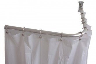 1353x1068px 6 Awesome L Shaped Shower Curtain Rod Picture in Others