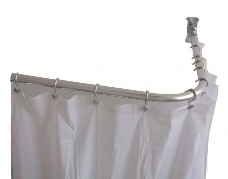 Others , 6 Awesome L Shaped Shower Curtain Rod : shaped shower rod
