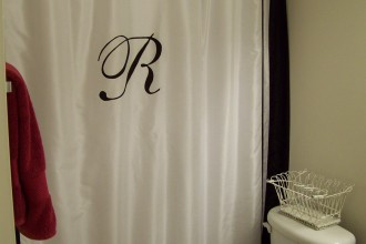 1200x1600px 8 Ideal Monogram Shower Curtain Picture in Others
