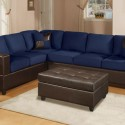 size sectional sofa , 8 Good Navy Blue Leather Sofa In Furniture Category