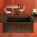 stainless steel kitchen sink , 7 Awesome Copper Farmhouse Sink In Kitchen Appliances Category