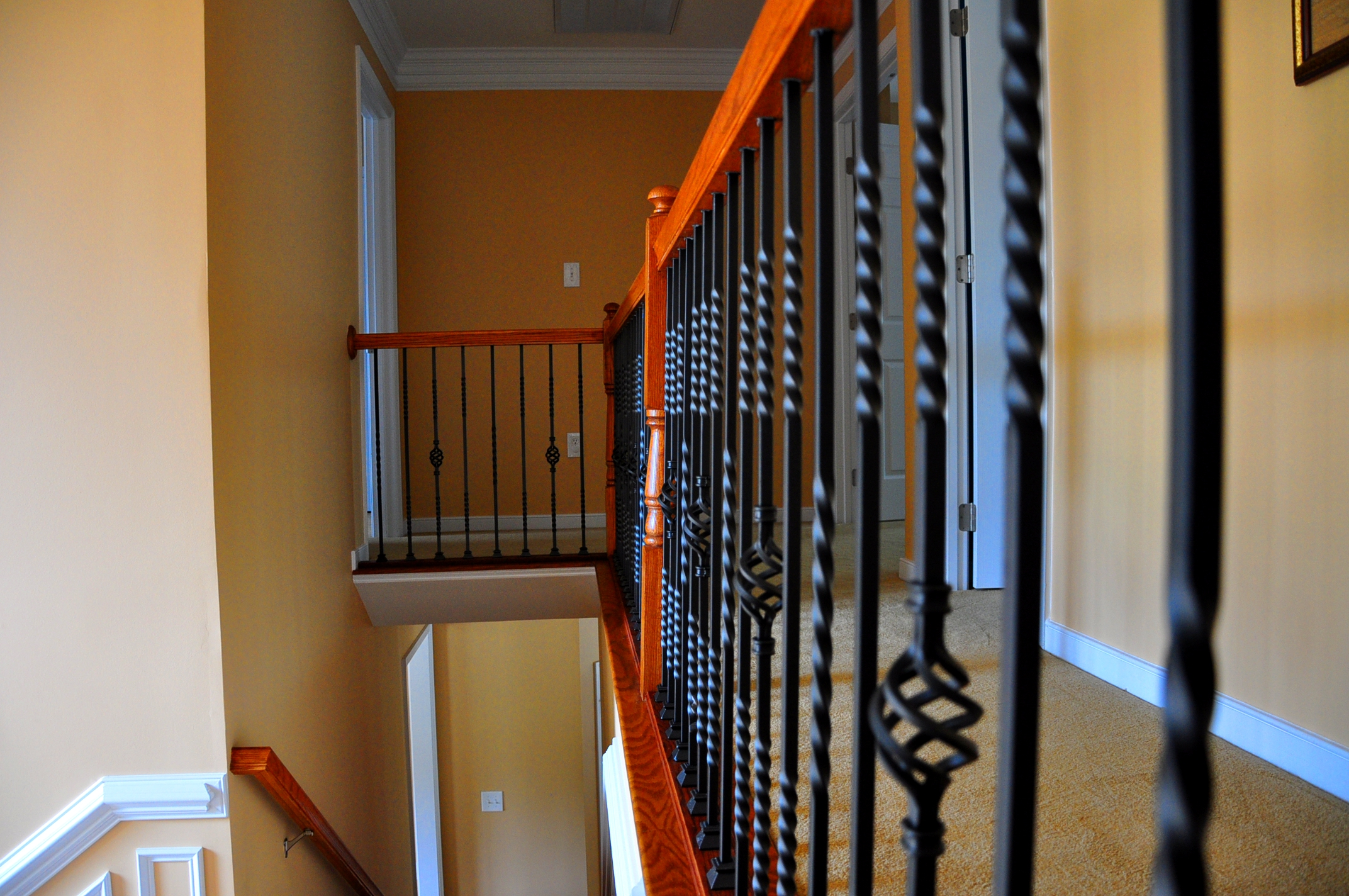 Stainless Steel Railing : 8 Cool Wrought iron balusters ...