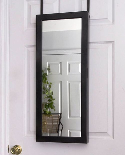Furniture , 8 Gorgeous Full Length Mirror With Jewelry Storage :  standing mirror